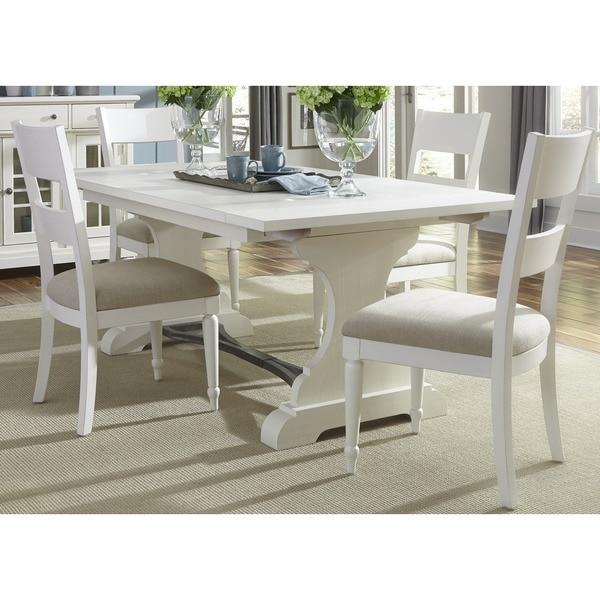 Cottage Harbor White Trestle Dinette Table 17712119