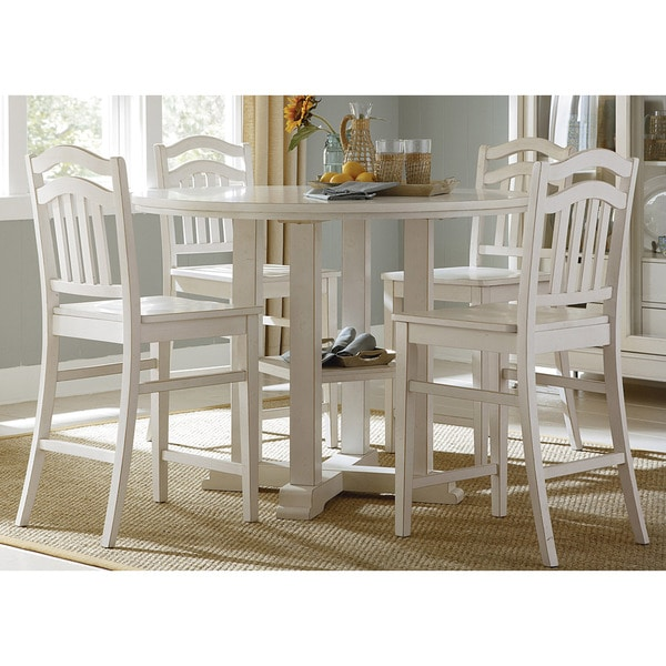 Summerhill Rubbed Linen White Gathering Table