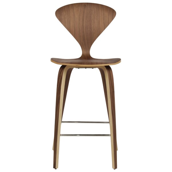 Cherner Style American Walnut Counter Stool 17720170