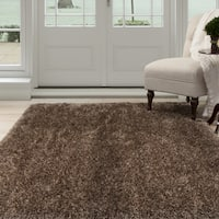 Windsor Home Shag Area Rug - Mocha - 8'x10'
