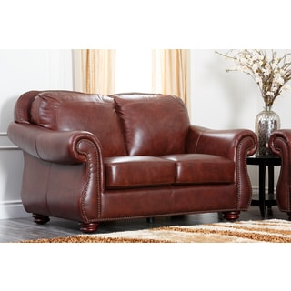 Abbyson Living Sedona 3 Piece Premium Top Grain Leather