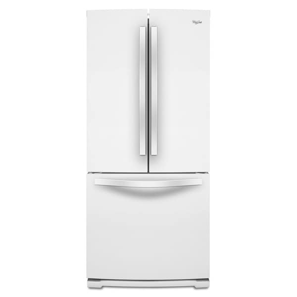 whirlpool 19 6 cubic feet french door refrigerator 17734795 shopping big. Black Bedroom Furniture Sets. Home Design Ideas