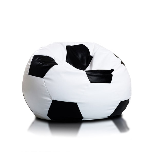 Large Soccer Ball Bean Bag Chair 17735355 Overstock