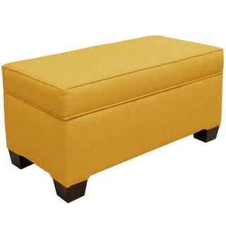 Yellow Storage Ottoman With 4 Additional Seats 16685181