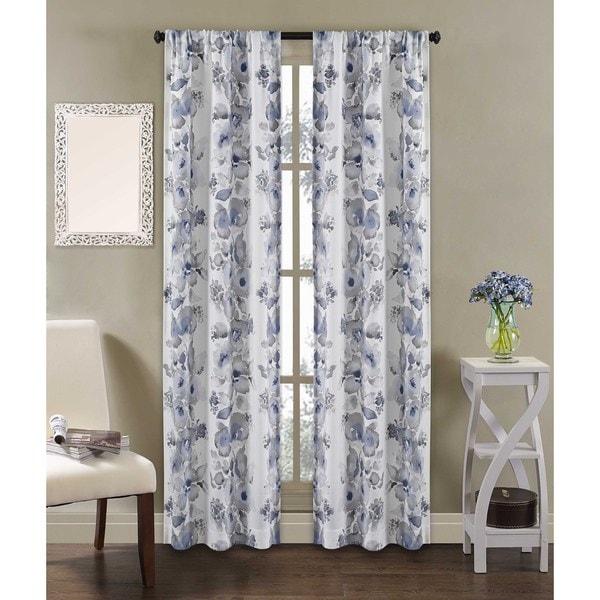 Dahlia Rod Pocket Curtain Panel Pair 17757875