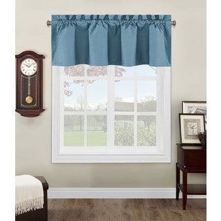 Grand Luxe Linen Gotham Tailored Valance 15280506