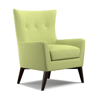 Angelo Home Harlow Floral Lotus Green Arm Chair 12517162