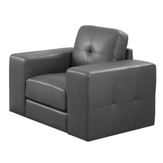 Crystal Charcoal Accent Chair 14971767 Overstock Com