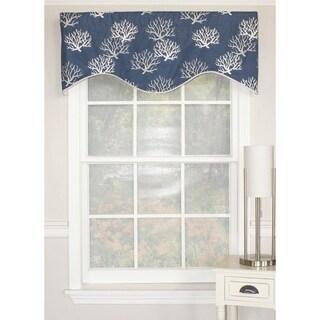 Soho Black Modern Window Valance 14708807 Overstock