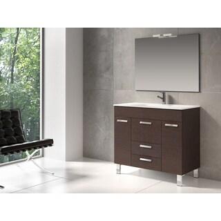 Design Element Serria Contemporary Bathroom Vanity W Side
