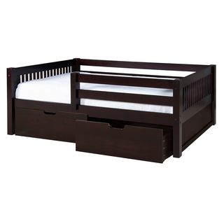Palace Imports Solid Wood Safety Rail Guard For Beds