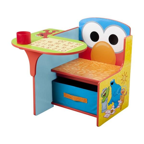 Sesame Street Chair Desk With Storage Bin By Delta