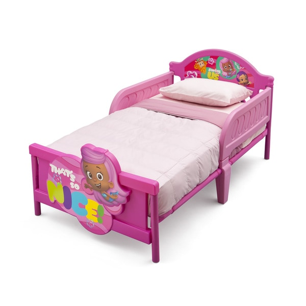 Toddler Bed Offers: Delta Children Bubble Guppies 3D Toddler Bed
