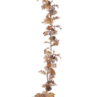 Pre Lit Garland Winterberry Branch 17662302 Overstock