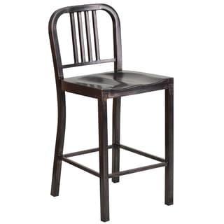 Charcoal Metal Side Chairs Set Of 2 15069553