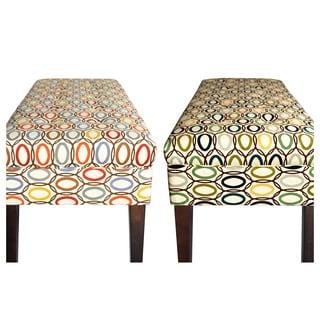 Sole Designs Denton Zigzag Bench Prices Reviews Amp Deals