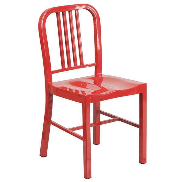 Multi Colored Metal Indoor Outdoor Chair 17812242