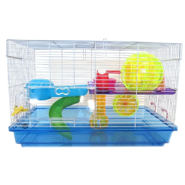 Yml Deluxe Two Level Hamster Cage 17816534 Overstock