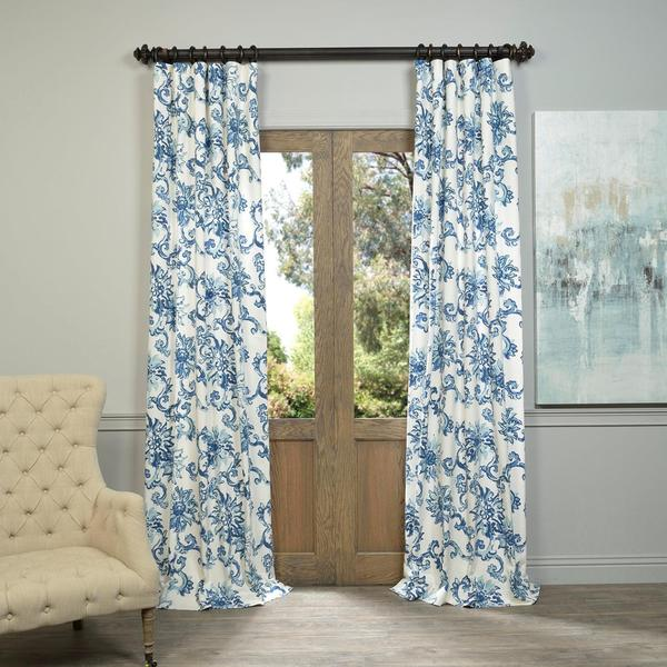 36 Panel Navy Curtain