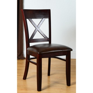 Upton Home Alendale Black Dining Chairs Set Of 2