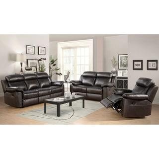 Abbyson Living Ashley Premium Top Grain Leather Sofa