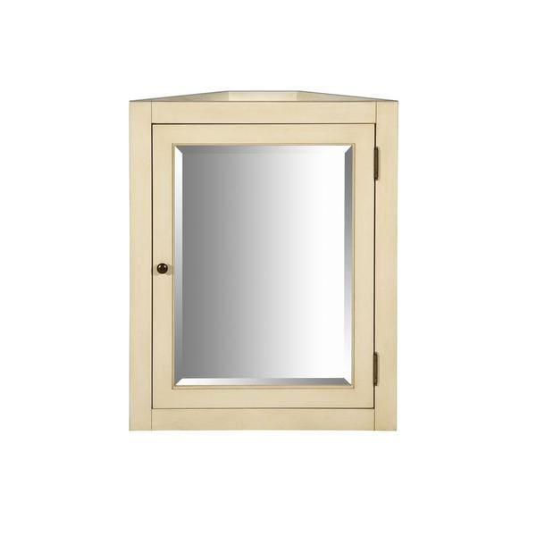 Richmond 24-inch x 30-inch Surface-Mount Mirrored Corner ...