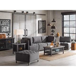 Safavieh Adrienne Grey White Storage Sideboard 15472842