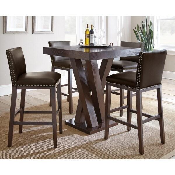 Greyson Living Tisbury 5 Piece Bar Table Set 17854780