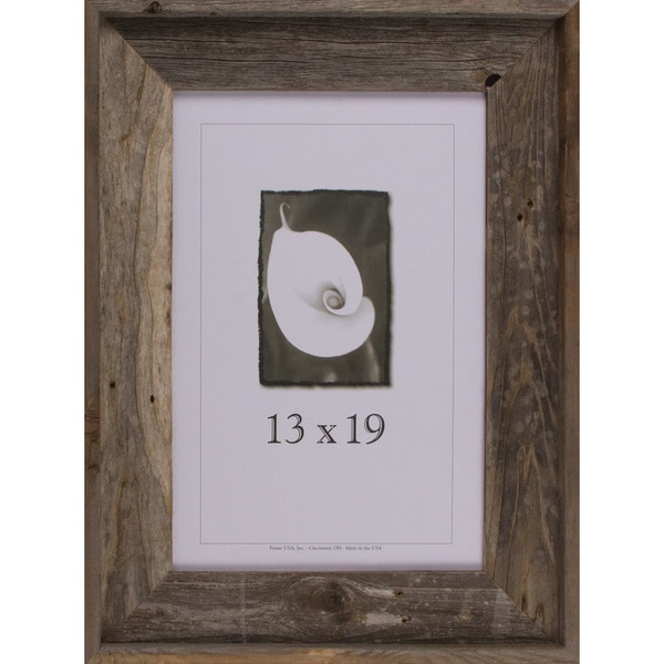 barnwood signature series picture frame 13 x 19 17855386 shopping great. Black Bedroom Furniture Sets. Home Design Ideas