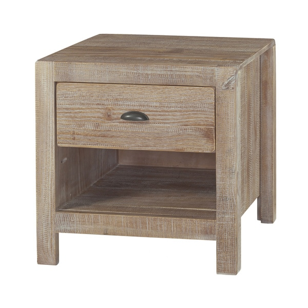 Furniture Stunning Display Of Wood Grain In A: Grain Wood Furniture Montauk 1-drawer Nightstand Solid