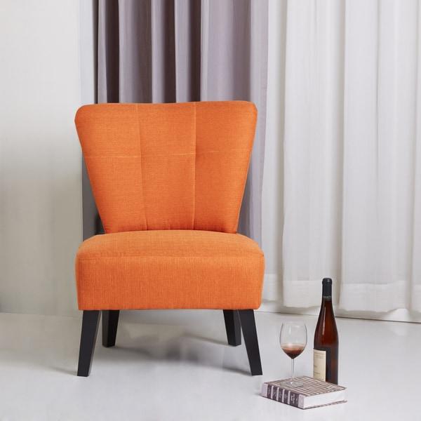 Craigslist Orange County Accent Chair: Sitswell Maddie Orange Modern Contemporary Accent Chair