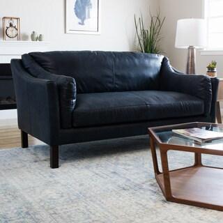 Samuel Contemporary Bonded Leather Sofa Reviews Deals