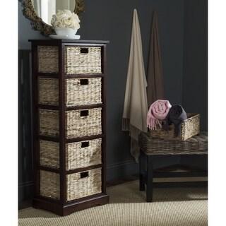 Safavieh Keenan Winter Melody 6 Drawer Wicker Basket Storage Chest 17896393