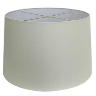 Medium Brown Burlap Drum Indoor Lamp Shade 14163799