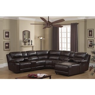 Kaspar Slate Grey Fabric Modern Sectional Sofa 13449292