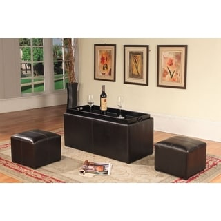 Christopher Knight Home Maxwell Espresso Bonded Leather