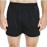 Majestic Men's Polka-Dot Silk Charmeuse Boxer Shorts