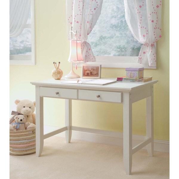 Home Styles Naples White Student Desk 17932221