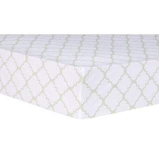 Trend Lab Waverly Pom Pom Play Chevron Crib Sheet Deals