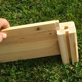 Arbor Wooden Arch Trellis 15396476 Overstock Com