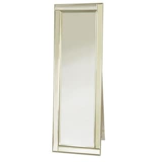 Abbyson Living Cosmo Nailhead Trim Floor Mirror 16157143