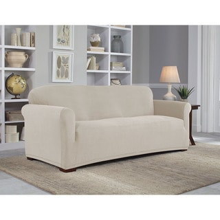Sure Fit Twill Supreme 2 Piece Sofa Slipcover 13993275