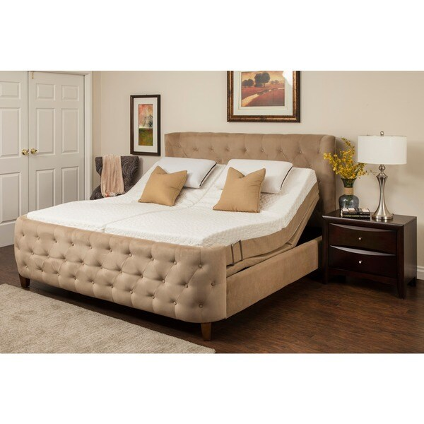 Sleep Zone Hermosa 8 Inch Split King Size Memory Foam