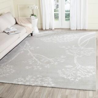 Safavieh Handmade Bella Grey Silver Wool Rug 5 X 8