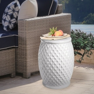 Cool Sale Abbyson Living Marina Tufted White Ceramic Garden Caraccident5 Cool Chair Designs And Ideas Caraccident5Info