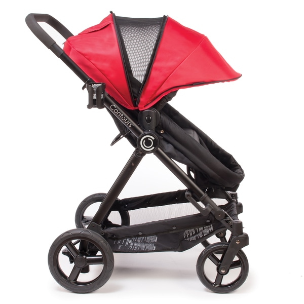 Contours Bliss 4 In 1 Convertible Stroller In Crimson