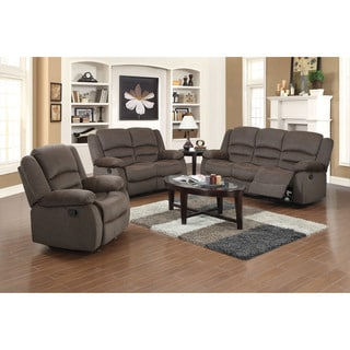 Fabric Reclining Sofa Set Reviews