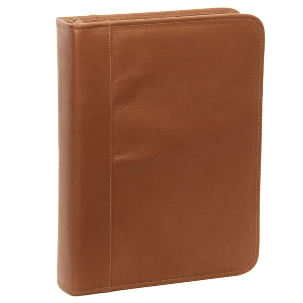 Piel Leather Three Ring Binder 18021883 Overstock Com