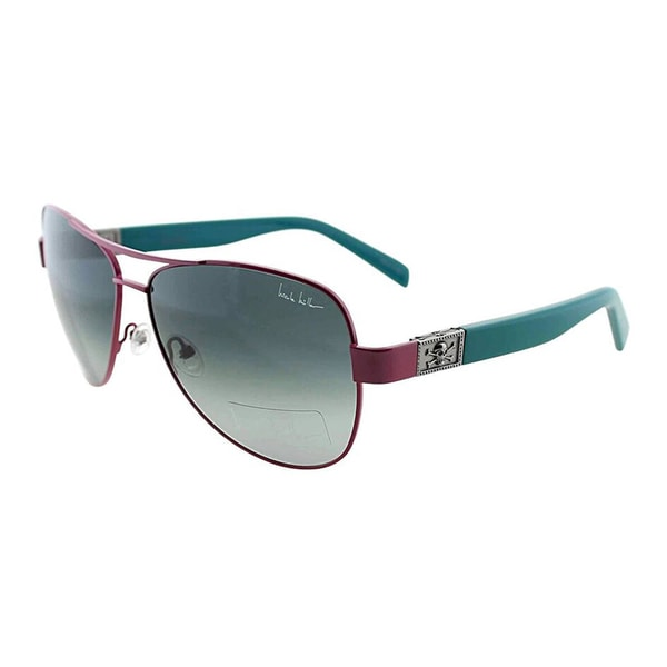 Nicole miller womens stone pink and green metal aviator sunglasses f858d76d c0b5 49fd aa97 2d92f5f4a551 600