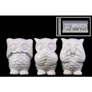 Ceramic Gloss Finish Red Elephant Figurines 18033646 Overstock Com Shopping Great Deals On